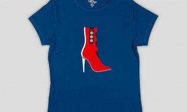 Camiseta Bota Alta 3 de Almagrecrea by Noe Blanco
